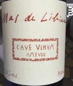 Cave Vinum - Mas De Libian - 2019 - Blanc