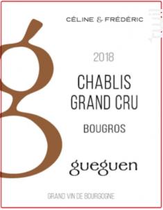 Chablis Grand Cru Bougros - Domaine Céline & Frédéric Gueguen - 2018 - Blanc