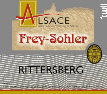 Rittersberg - ALSACE FREY-SOHLER - 2017 - Blanc