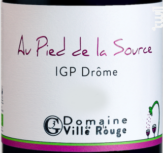 Au Pied de la Source - Domaine de la Ville Rouge - 2019 - Rouge