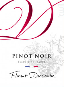 PINOT NOIR - Vins Descombe - Non millésimé - Rouge