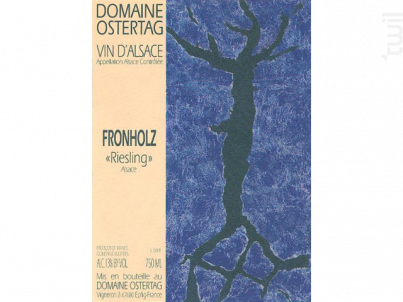 Fronholz Riesling - Domaine OSTERTAG - 2011 - Blanc