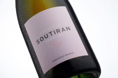 ROSÉ GRAND CRU - Champagne A. Soutiran - Non millésimé - Rosé