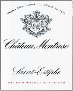 Château Montrose - Château Montrose - 2010 - Rouge