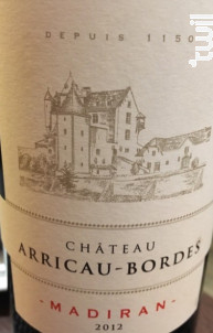 Château Arricau-Bordes - Château Arricau-Bordes - 2012 - Rouge