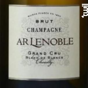Blanc de Blancs Grand Cru Brut - Champagne AR Lenoble - Non millésimé - Effervescent