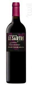 Château le Sartre - Château Le Sartre - 2014 - Rouge