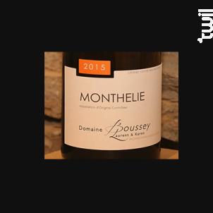 Monthélie - Domaine Laurent Boussey - 2015 - Blanc