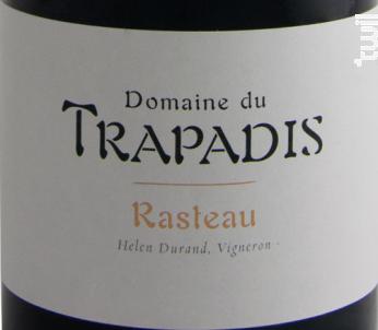 Rasteau Les Cras - Domaine du Trapadis - 2016 - Rouge