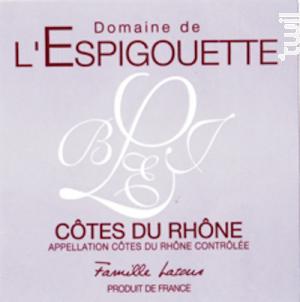 Côtes du Rhône - DOMAINE DE L'ESPIGOUETTE - 2017 - Blanc