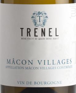 Mâcon Village - Trenel - 2018 - Blanc