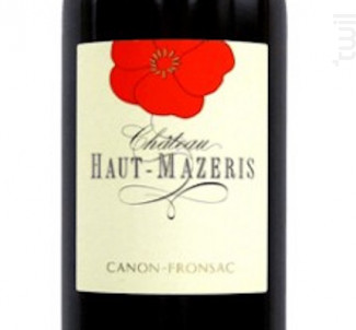 Château Haut Mazeris - Château Haut Mazeris - 2000 - Rouge