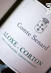 ALOXE CORTON (Pinot Gris) - Comte Senard - 2015 - Blanc