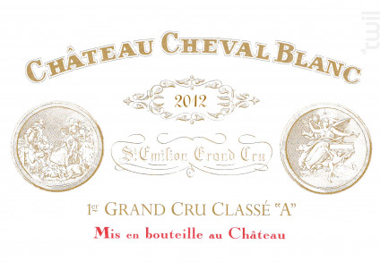Château Cheval Blanc - Château Cheval Blanc - 2012 - Rouge
