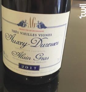Auxey-Duresses Très Vieilles Vignes - Domaine Alain Gras - 2017 - Rouge