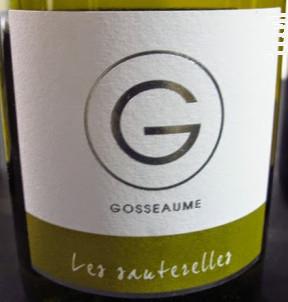 Les Sauterelles - Domaine Lionel Gosseaume - 2017 - Blanc