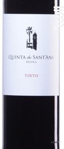 Quinta De Sant'ana - Quinta de Sant'Ana - 2014 - Rouge