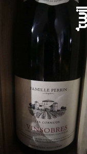 Les Cornuds - Famille Perrin - 2017 - Rouge