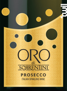 Prosecco ORO - Sorrentini - Non millésimé - Effervescent