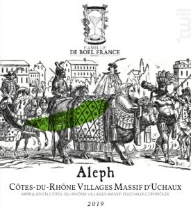Aleph - Famille De Boel-France - 2019 - Rouge