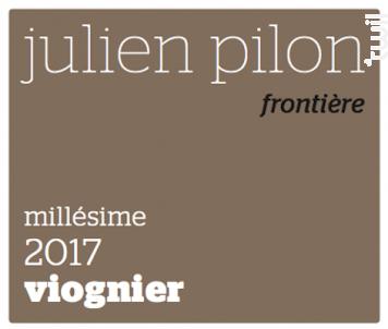 Frontière - Domaine Julien Pilon - 2017 - Blanc