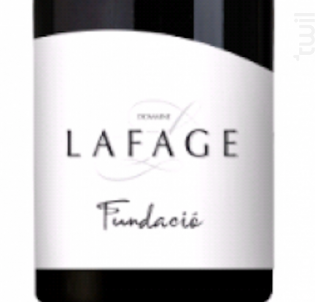 Fundacio - Domaine Lafage - 2018 - Rouge