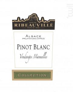 Pinot Blanc Collection - Cave de Ribeauvillé - 2017 - Blanc