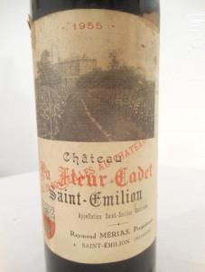 Château La Fleur-cadet - Vignobles Mérias Château Cadet Pontet - 1955 - Rouge