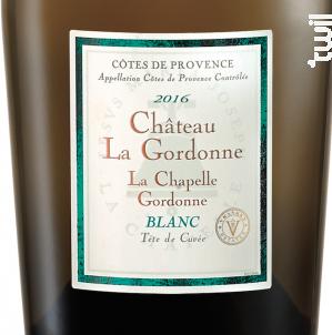 La Chapelle Gordonne - Chateau La Gordonne - 2017 - Blanc