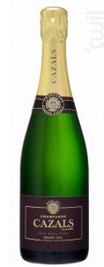 Cuvée Années Folles Grand Cru - Demi-Sec - Champagne Cazals Claude - Non millésimé - Effervescent
