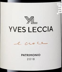 E croce - Yves Leccia - 2015 - Rouge