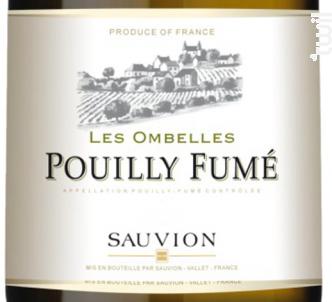 Pouilly Fumé Les Ombelles - SAUVION - CHATEAU DU CLERAY - 2017 - Blanc