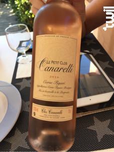 Petit Clos Canarelli - Clos Canarelli - Yves Canarelli - 2017 - Rosé