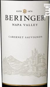 Napa Valley Cabernet Sauvignon - Beringer Vineyards - 2013 - Rouge