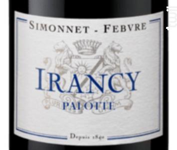 Irancy Palotte - Simonnet Febvre - 2014 - Rouge