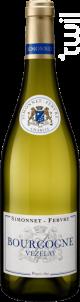 Bourgogne Vézelay - Simonnet Febvre - 2015 - Blanc