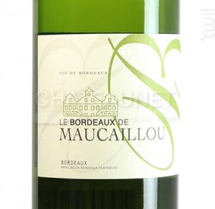 Le B par Maucaillou - Château Maucaillou - 2017 - Blanc