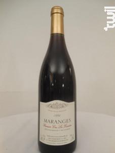 Maranges Premier Cru La Fussière - Domaine Bernard Bachelet et Fils - 1998 - Rouge