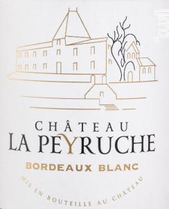 Bordeaux Blanc - Château La Peyruche - 2019 - Blanc