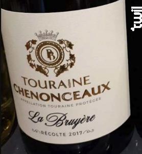 Touraine Chenonceaux - Domaine Chainier - Domaine de la Bruyère - 2017 - Blanc