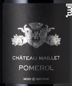 Château Maillet - Château Maillet - 2016 - Rouge