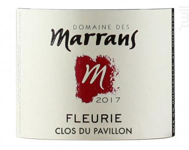 Clos du Pavillon - Domaine des Marrans - 2017 - Rouge