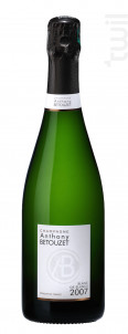 BLANC DE BLANCS - Champagne Anthony Betouzet - 2007 - Effervescent