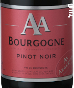 Bourgogne Pinot Noir AA - Jean Luc et Paul Aegerter - 2016 - Rouge
