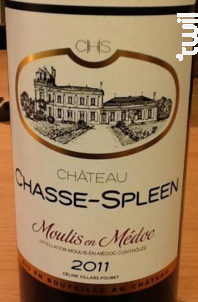 Château Chasse-Spleen - Château Chasse-Spleen - 2011 - Rouge