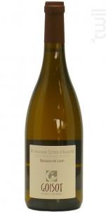 Bourgogne Côtes d'Auxerre Les Gueules de Loup - Domaine Goisot Jean-Hugues et Guilhem - 2004 - Blanc
