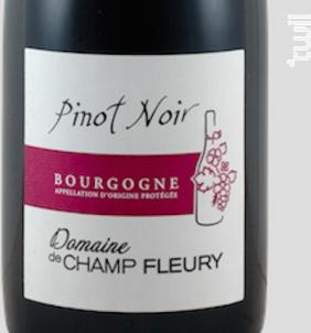Bourgogne Rouge - Domaine de Champ-Fleury - 2017 - Rouge