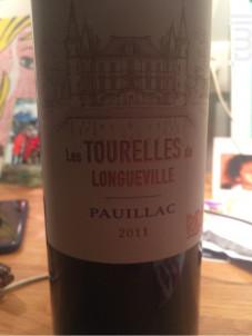 Les Tourelles de Longueville - Château Pichon-Longueville - 2011 - Rouge