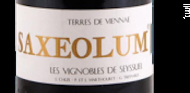SAXEOLUM Vignobles de Seyssuel - Domaine Louis Cheze - 2016 - Rouge