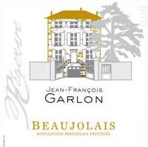 Cuvée Réserve - Domaine Garlon - 2014 - Rouge